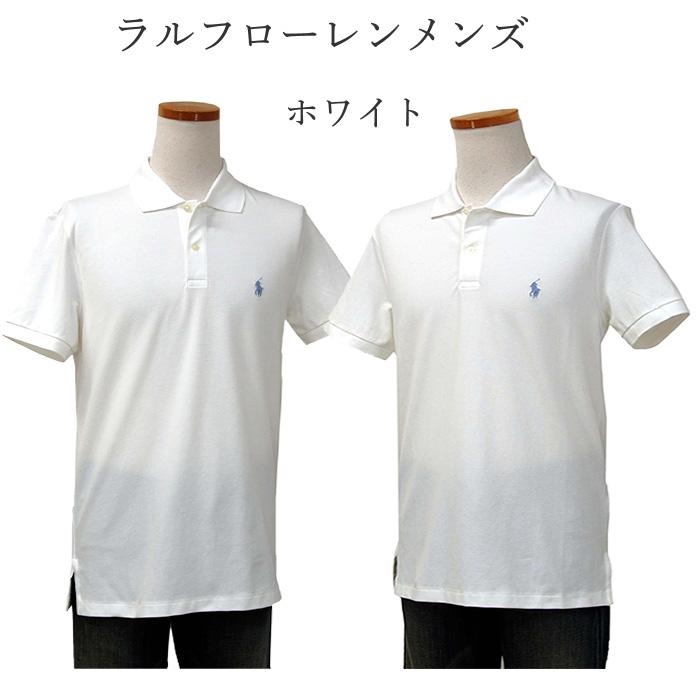 ラルフローレン メンズ POLO GOLF 半袖ポロシャツ ホワイト