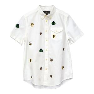 ラルフローレン マルチ刺繍半袖シャツ