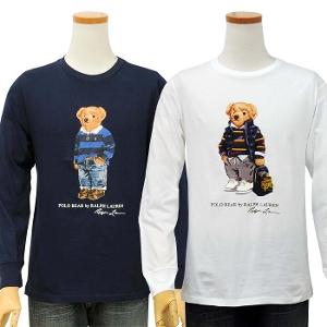 メンズシリーズ/ポロベア 長袖Tシャツ